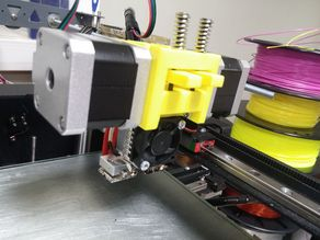 Simple DUAL Chimera Extruder, designed for MZ3D printers