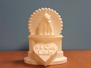 #1 Cat Lady Trophy