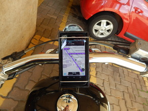Universal Cell Phone Mount / Holder for Motorcycles