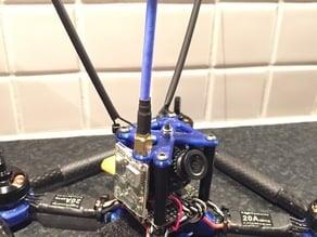 Über 180 Camera plate with VTX side mount