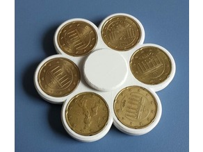 YACFS - Yet Another Coin Fidget Spinner (Parameterizable)