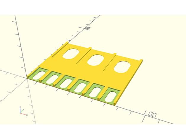 Flat SD holder