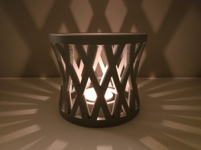 Tea lights shadow lamp