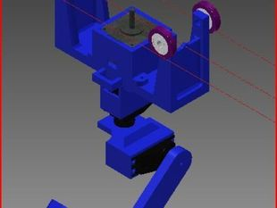Printrbot dropcam design: The Cam-Tram