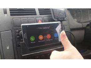 Galaxy Note Edge In Car CD Holder