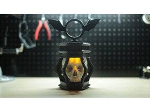 LED Skull Lantern