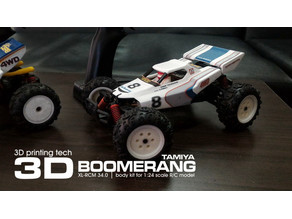 TAMIYA BOOMERANG 1:24 scale kit for SUBOTECH
