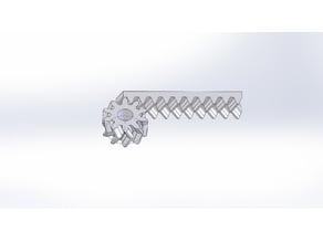 Herringbone Gear Generator