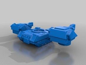 Robotech UN Tornado Medium Tank