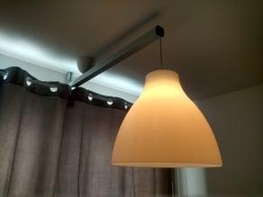 Ceiling Lamp Extender