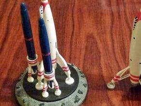 Tomorrowland Moonliner Rocket Dual Pen Holder