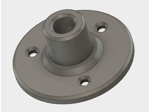 half inch tube braket
