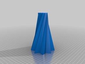 9 Pointed Star Vase
