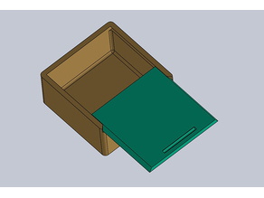 Schiebedeckel Box (Sliding Box)