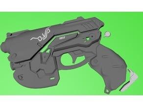 D.va pistol Overwatch V1.1