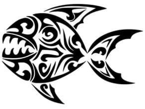 piranha stencil