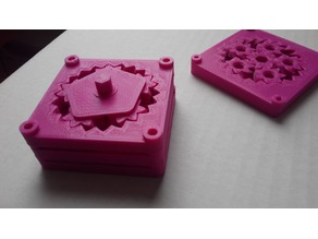 Stackable planetary gearbox