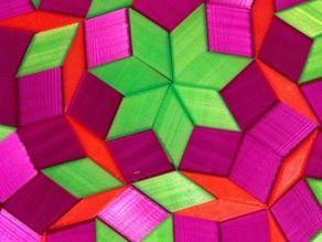 Aperiodic tiling 7-fold symmetry