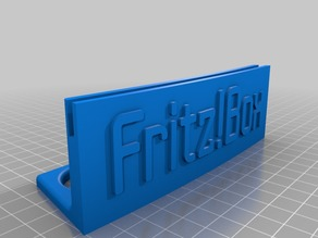 AVM Fritz!Box Stand (for small 3D printers)