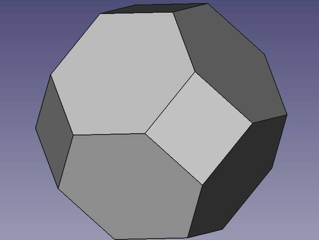 The truncated octahedron | Hexnet