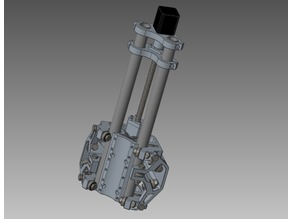 MPCNC Z-Axis for 12mm Ballscrew - Early Prototype