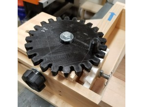 New gears for box joint jig