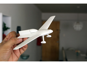 Easy to print Concept Aircraft