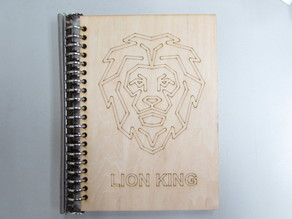 DIY Laser Cut A5 Notebook