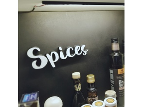 Kitchen Spice Deco