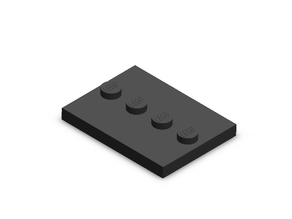 Lego Minifig Base Plate (Part # 88646)
