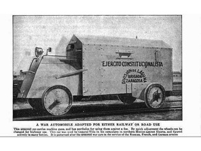 Mexican Revolution Armored Car