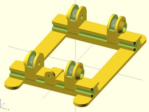 Sliding stand for spool