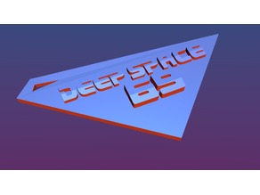 Deep Space 69 Keychain (new)