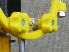 Parametric nut thumbwheel