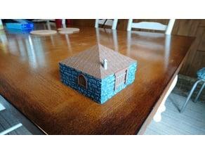 Leomund's Secure Shelter / Stone Cottage 28mm scale