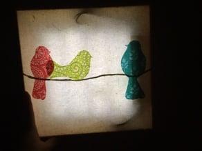 LED Canvas Night light