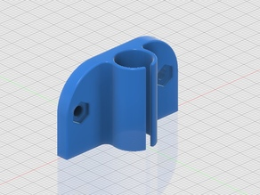 Prusa i3 / Rework Y axis self lubricating bushing holder + video