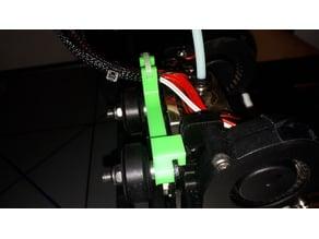 guide cable pour la tete E3DV6 clone