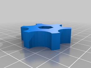Customized Knob for Spool-Holder M6 Nut - smaller Version