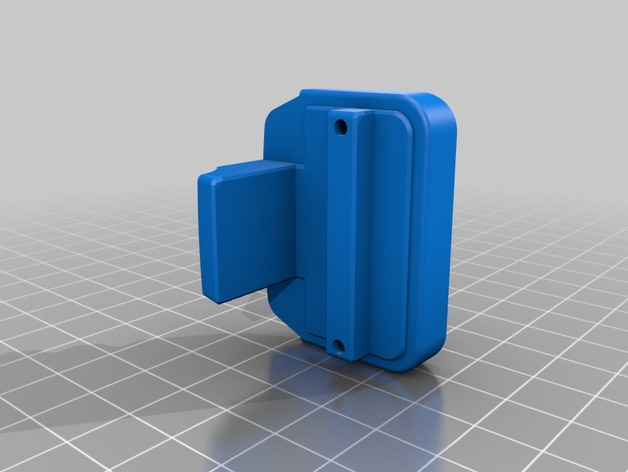 Canon C200 EVF Cap with Cable Management by bpetersen10 - Thingiverse
