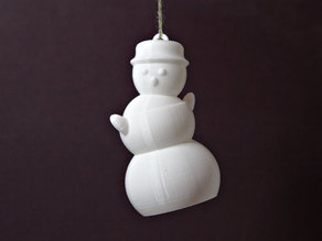 Dancing Snowman Ornament