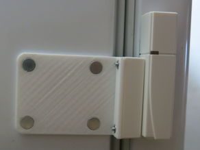 Parametric Homematic magnet mount