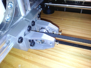 X Axis Idler Mount With Tensioner Ver.2 (K8200 / 3DRAG)