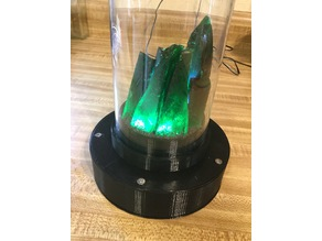 Kryptonite Glass Display Stand