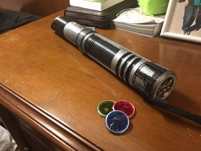 Modular Lightsaber UPGRADE: Color change disk