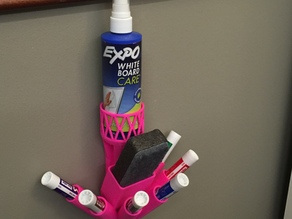 All-In-One Dry Erase Accessory Holder