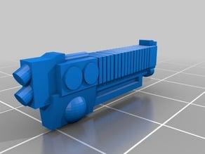 Myrmidon Heavy Arc guns