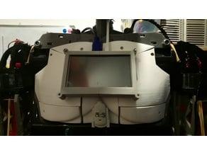 "5"" TFT Display Frame for InMoov Robot Chest"