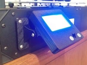 Rigidbot Community LCD cover with bracket.