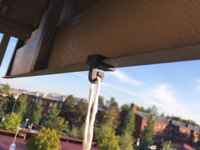 Balcony hook